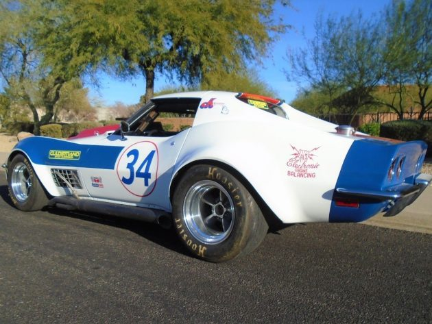 Guldstrand Tuned Meat Axe: 1970 Corvette Race Car
