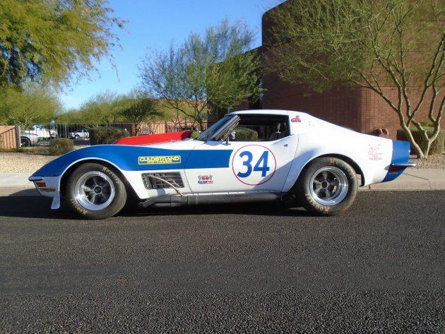 Guldstrand Tuned Meat Axe 1970 Corvette Race Car