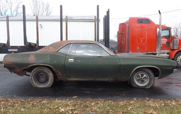 Ohio Rustacuda 1970 Plymouth Cuda Project