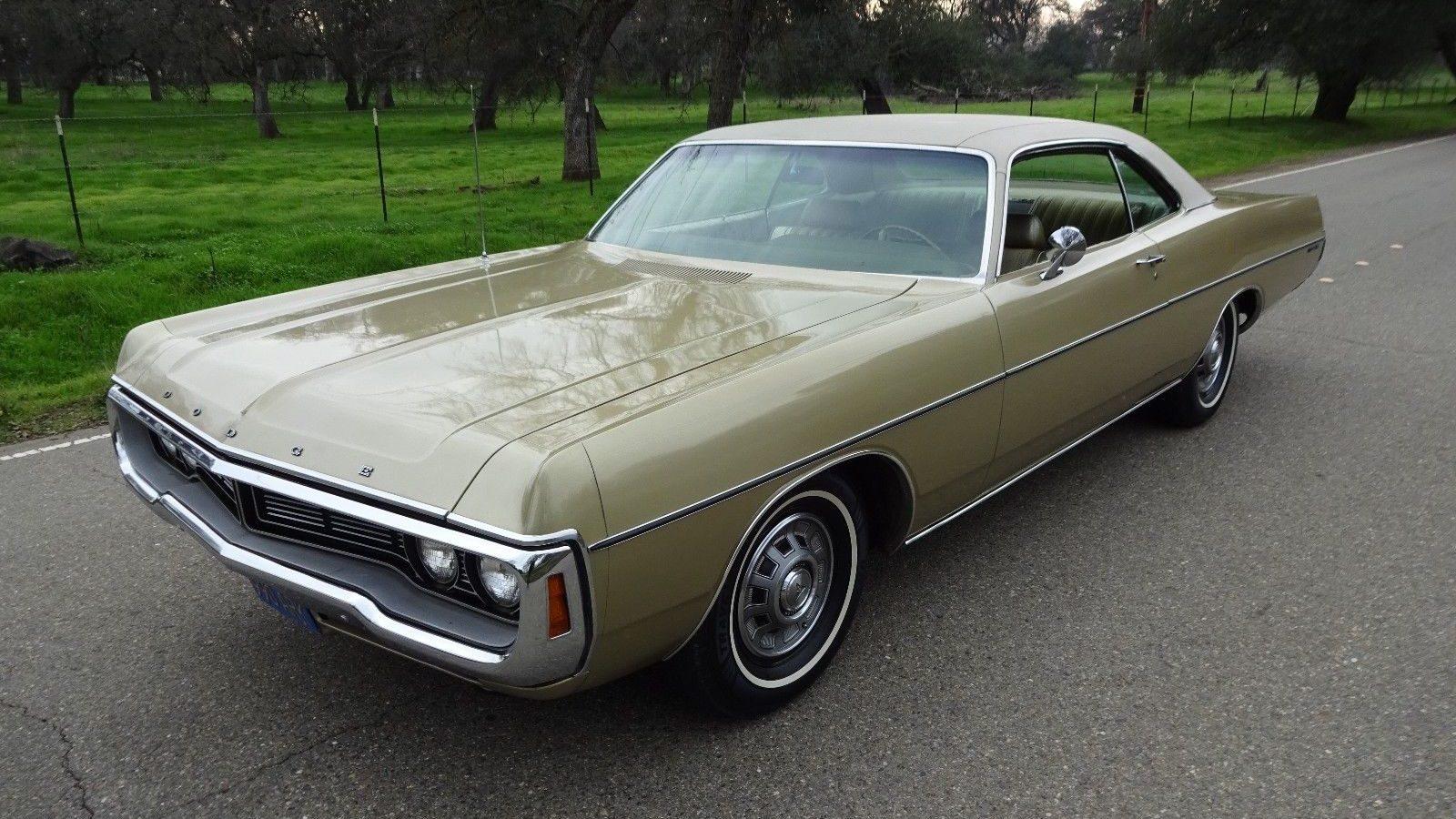 Time Capsule! 1970 Dodge Polara Survivor