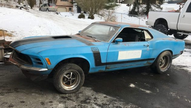 only 4 200 miles 1970 ford mustang boss 302 rh barnfinds com