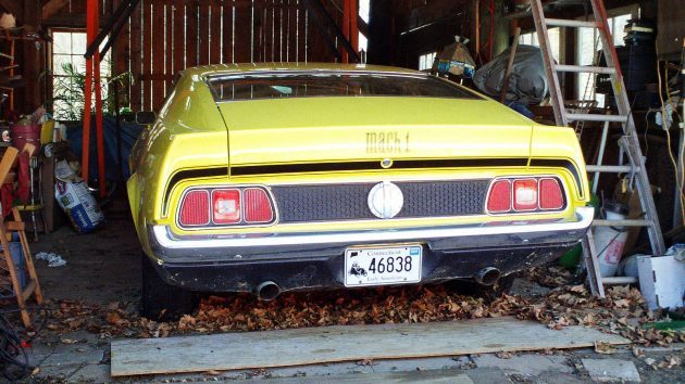 Just 7,313 Miles? 1971 Mustang Mach 1