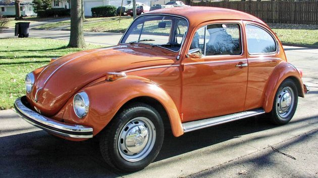 Original Paint: 1972 VW Super Beetle