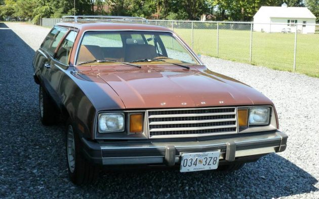 Brown Rwd And A Stick 1980 Ford Pinto Wagon