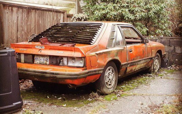 Reader Sighting: 1981 Mercury Capri RS Turbo
