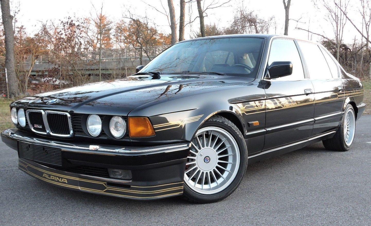 BMW Cherry Hill >> V12 Sturzkampfflugzeug! 1988 Alpina B12