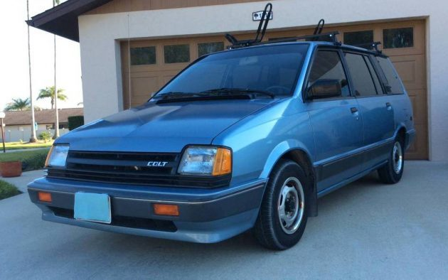 Nicest One Left: 1989 Dodge Colt Vista
