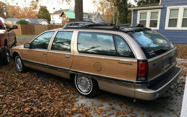 The Last Dinosaur! 1996 Buick Roadmaster Wagon