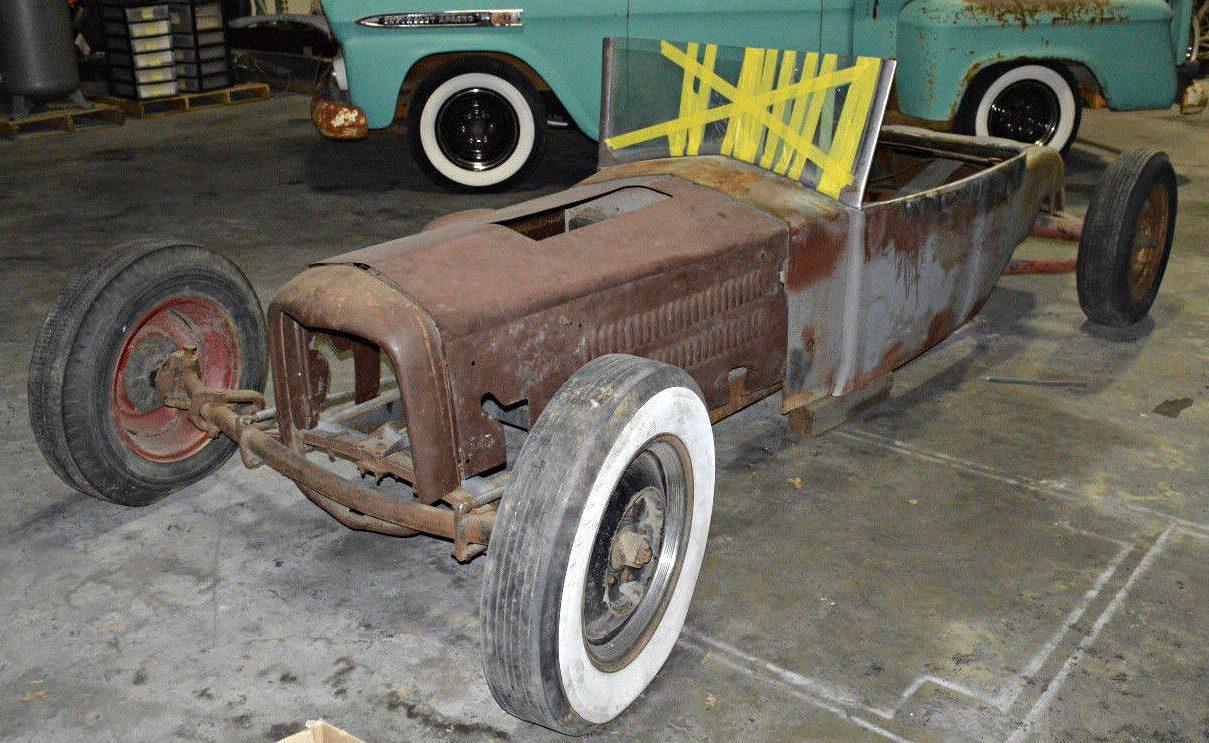 Hot Rod Magazine Feature: 1923 Ford/Fiat Custom