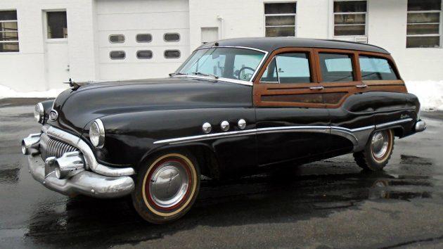 Original Wood: 1951 Buick Series 50 Dyna Flow Estate