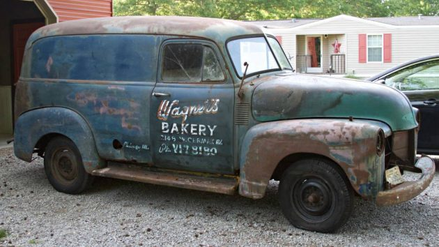 Chicago Delivery: 1953 Chevrolet Panel Truck