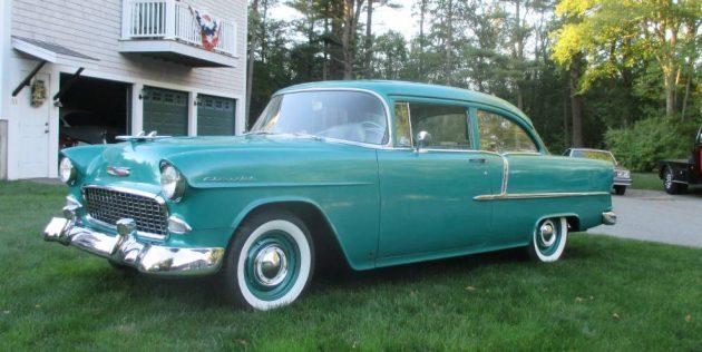 Plane Jane Tri-Five: 1955 Chevrolet 210