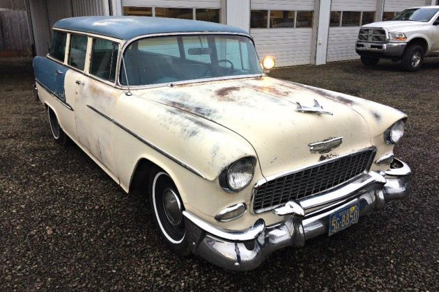 Heart Transplant: 1955 Chevrolet Bel Air Wagon