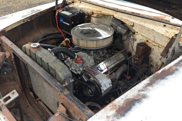 Heart Transplant 1955 Chevrolet Bel Air Wagon