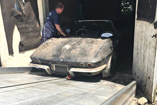 Stingray Garage Find: 1965 Corvette Convertible