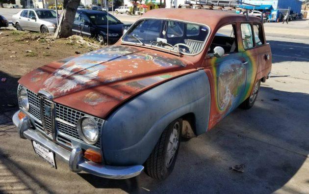 Swedish Hippie 1967 Saab 95 Wagon