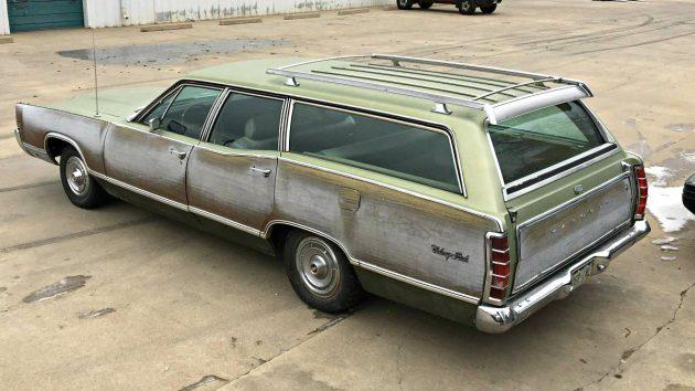 Green Giant: 1969 Mercury Colony Park Wagon