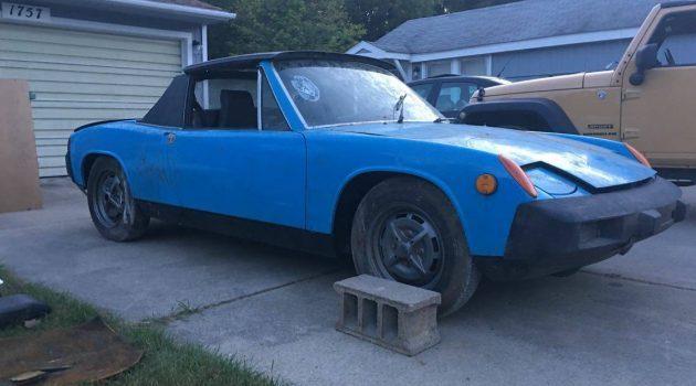 Am I Blue: 1975 Porsche 914 Targa 2.0