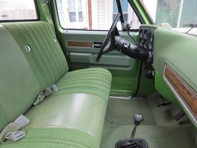 Magnificent Green Thing 1976 Chevrolet K20 4 Wheel Drive Beatyapartments Chair Design Images Beatyapartmentscom