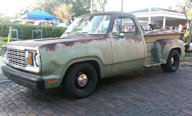 Government Retiree 1978 Dodge D Series Step Side