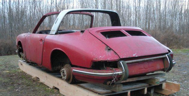 Soft Window Project 1968 Porsche 912 Targa