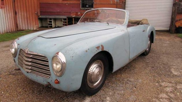 Fetching Barn Find 1950 Simca Cabriolet