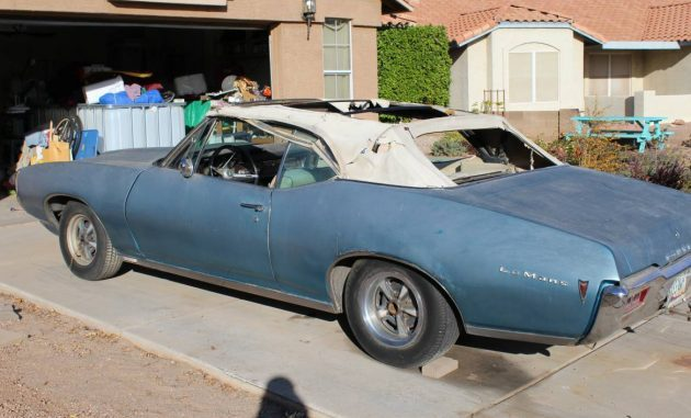 All in the Family: 1968 Pontiac LeMans Rag Top