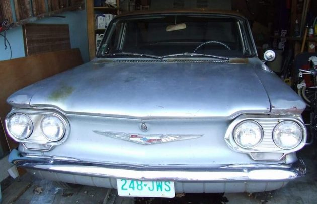 First Edition Barn Find 1960 Chevy Corvair