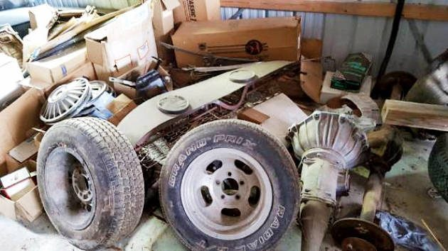 Piles Of Parts: 1966 Mustang Coupe