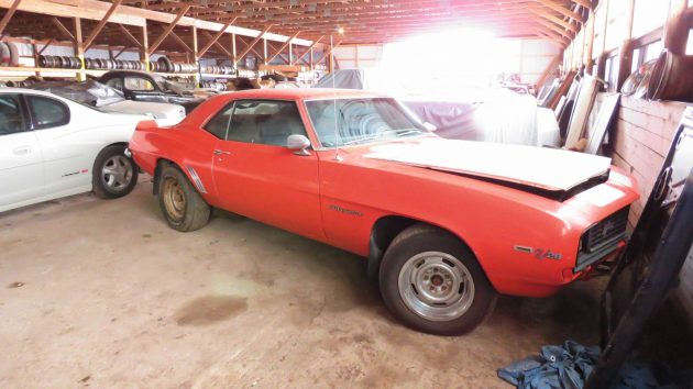 Muscle cars parts stash found in michigan for Motor cars lansing mi