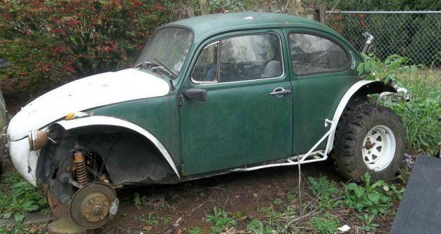 Carolina Yard Art: VW Baja Bug Project