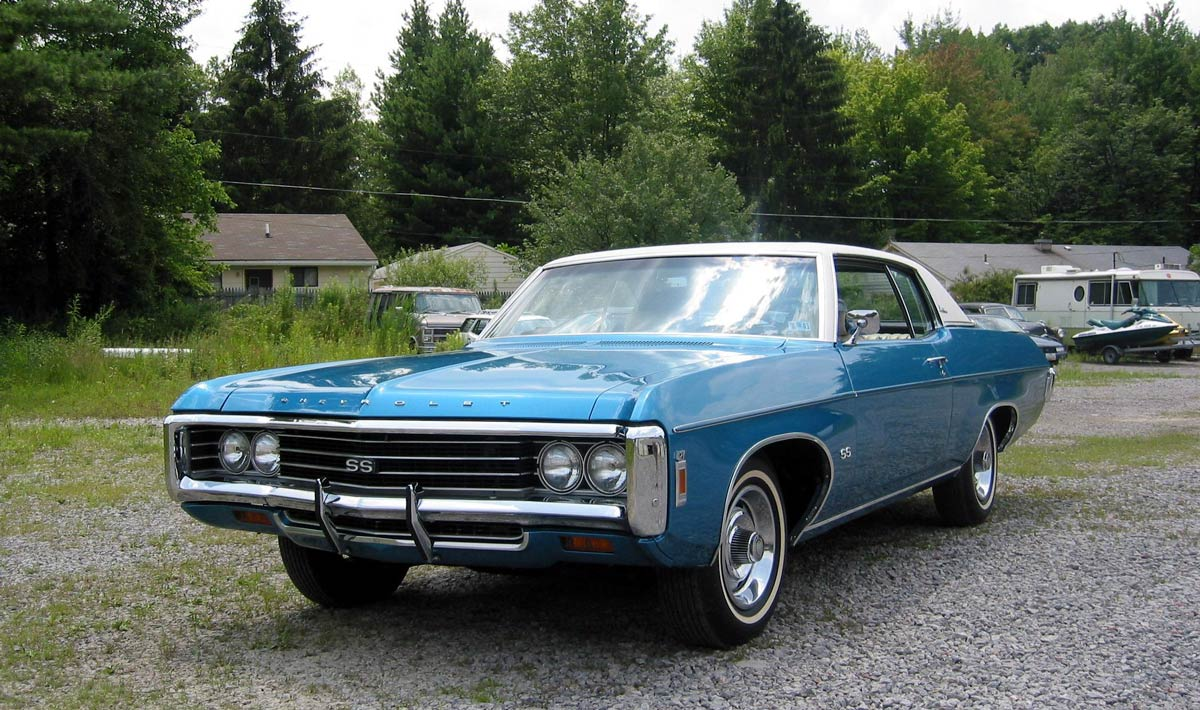 427 And A 4 Speed 1969 Chevrolet Impala Ss 1968 Chevy This