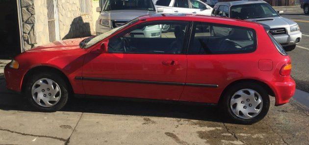 Facing Extinction: 1993 Honda Civic Si