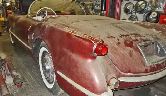 Last On the Road in '65: 1954 Chevy Corvette