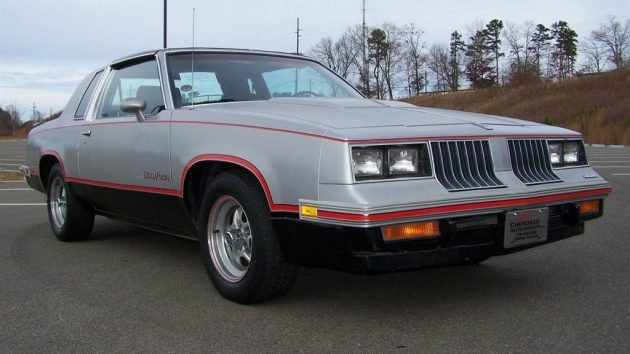 Above The Line 1984 Hurst Olds