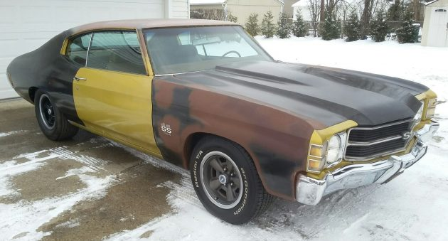 Rust-Free Patchwork Quilt: 1971 Chevelle SS 454