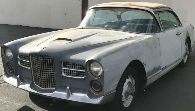Stripped for Paint: 1961 Facel Vega HK500