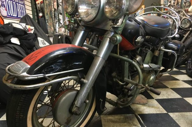 Black Plate Bike: 1960 Harley-Davidson FLH Duo-Glide