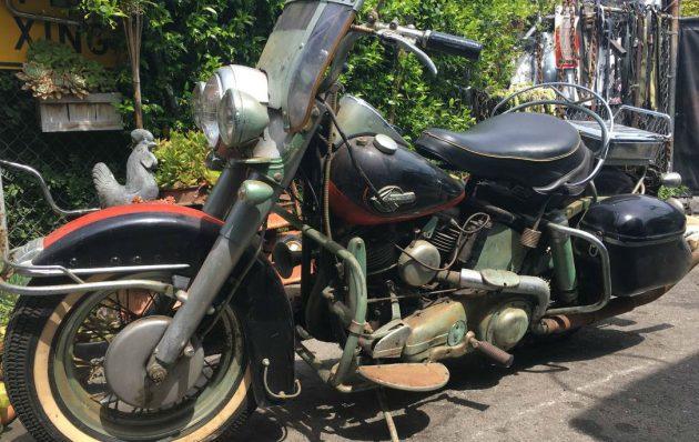 Craigslist Classifieds Los Angeles >> Black Plate Bike: 1960 Harley-Davidson FLH Duo-Glide