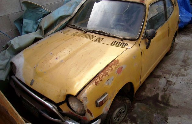 Ran When Parked: 1971 Honda Z600 Coupe