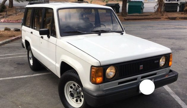 Never This Nice: 1986 Isuzu Trooper