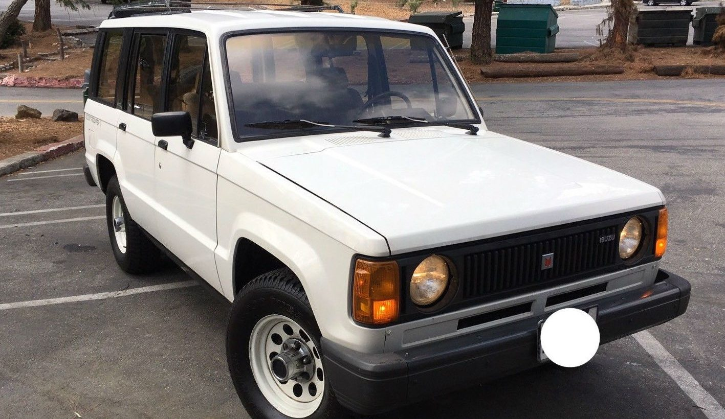 Off Road Vehicles For Sale >> Never This Nice: 1986 Isuzu Trooper