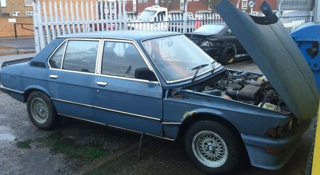 UK Barn Find: BMW M535i