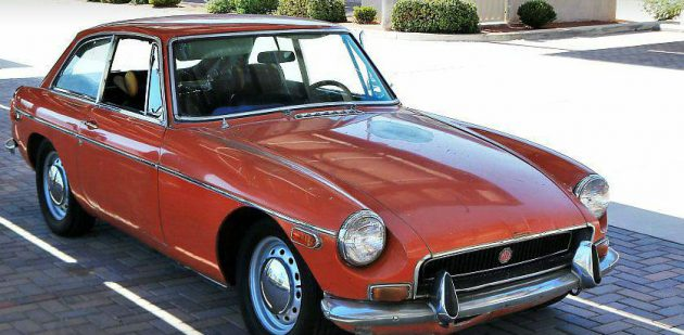 One Owner Coupe: $3,995 1971 MGB GT