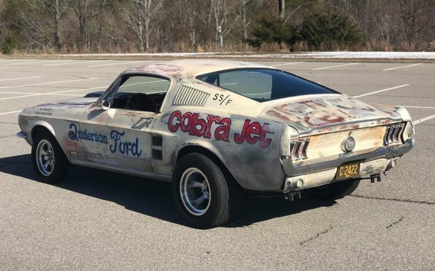 Fantasy Find 1967 Ford Mustang Cobra Jet Replica