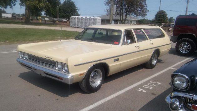Solid Driver: 1969 Plymouth Fury Suburban Wagon