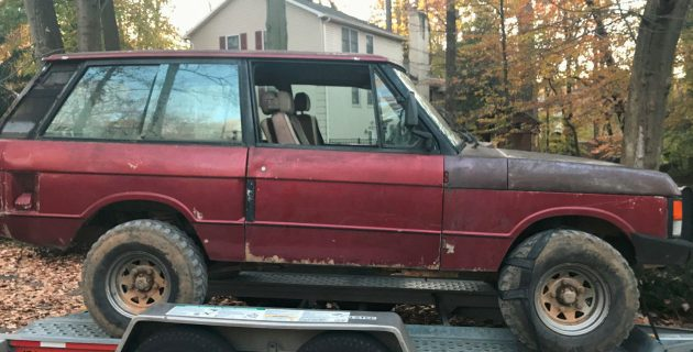 Regretful Abuse: 1985 Range Rover Two-Door