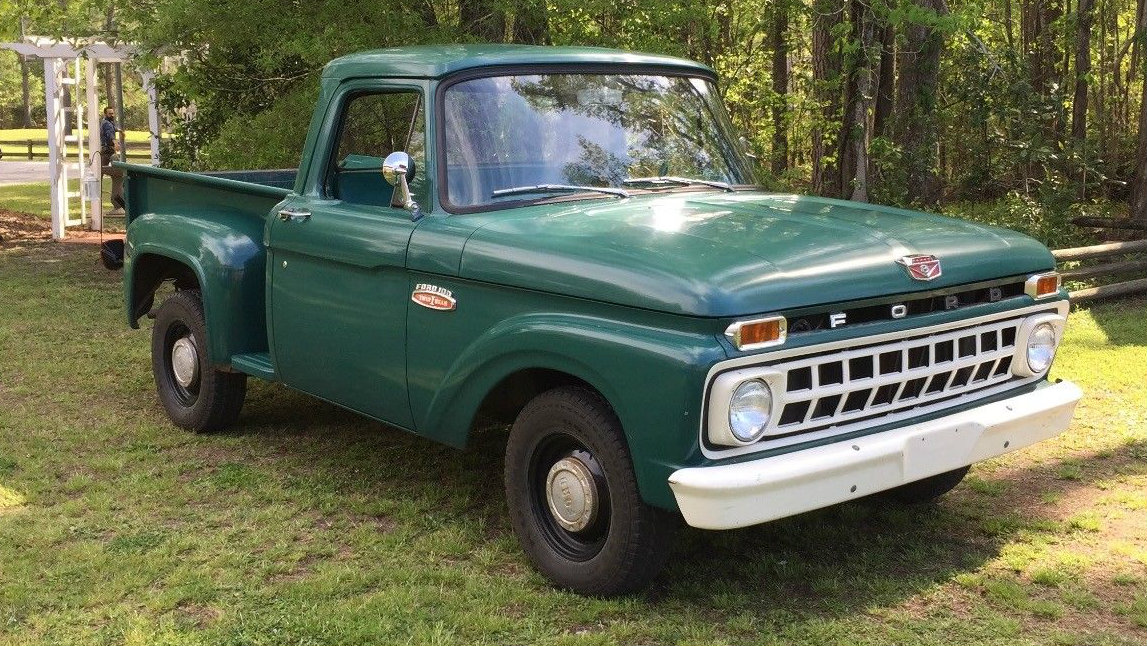 It Is What It Was: 1965 Ford F100