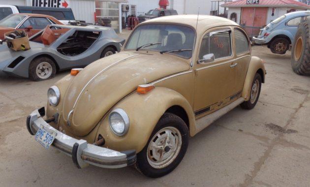 How Much Is A Car Paint Job >> Estate Acquisition: 1974 VW Beetle Sun Bug