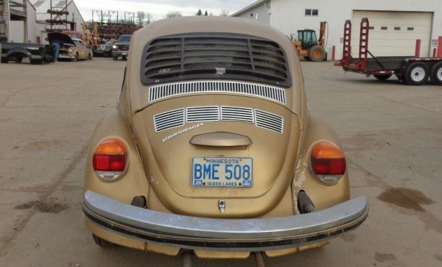 Estate Acquisition 1974 Vw Beetle Sun Bug